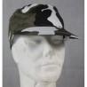 Highlander Black White Urban Camo Cap One Size 100% Cotton Elasticated Adult