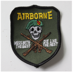 United States Airborne Special Forces Patch Badge Embroidered