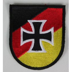 German Flag /Shield Military Patch Badge Embroidered 2021/160