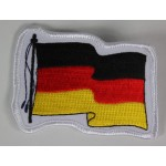 German Flag Military Patch Badge Embroidered 2021/164