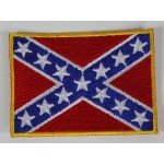 US Confederate Flag Patch Badge Embroidered 2021/167