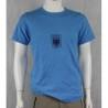 Genuine Army Surplus German Blue PT T-Shirt Short Sleeve Pique Cotton Vintage