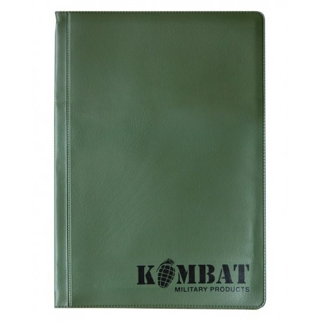 Kombat Military Document Holder Nyrex Nirex A5 Water Resistant Protection