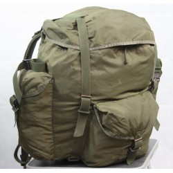 Genuine Surplus Vintage Austrian Alice Pack Rucksack Backpack Olive Repaired