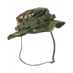 DPM Woodland CAMO ARMY CADET STYLE WIDE BRIMMED BOONIE HAT SUN HAT AIRSOFT