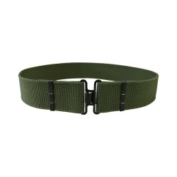 "Kombat MOD Style Nylon Webbing 2"" Cadet Belt Olive Green Working Dress ATC"