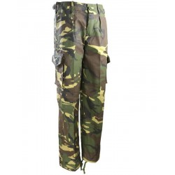 Kids DPM Style Camo Combat Trousers