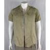 "Genuine Surplus Vintage British Army olive Cotton S/S Shirt XS 34-36"" 2021/96"