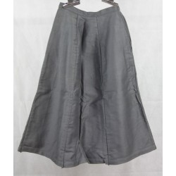 Used Grey Moleskin Skirts Panelled A-Line Small Sizes Possibly Army Surplus