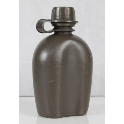 Genuine Surplus Dutch Army Plastic Water Bottle 200mm Tall Strong Waterbottle