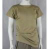 Genuine Army Surplus Italian desert Sand T-Shirt Short Sleeve Vintage