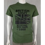 British Army Exclusive Printed T-Shirt Army Military Airsoft Tactical