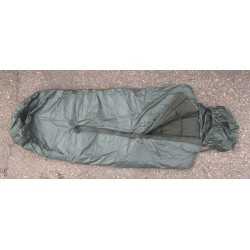NEW Genuine Surplus French Ex Army Sleeping Bag 3 Season Mummy Waterproof Base