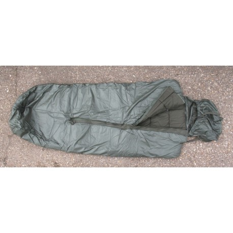 Genuine Surplus French Ex Army Sleeping Bag 3 Season Mummy Waterproof Base g1