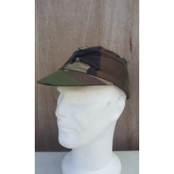 Genuine Surplus French CCE Camo Cotton Peak Fatigue Caps