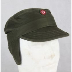 G1 Genuine Surplus Austrian All Seasons Poly/Cotton Peak Fatigue Caps Olive