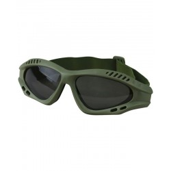 Kombat Spec-Ops Green or Tan Glasses Tinted Lenses