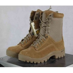 Highlander ATF Pro Forces Tactical Desert Boot Tan Suede Cordura Panels Military