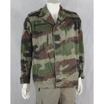 Genuine Surplus French Army Jacket CCE Camo Hip Length Canvas