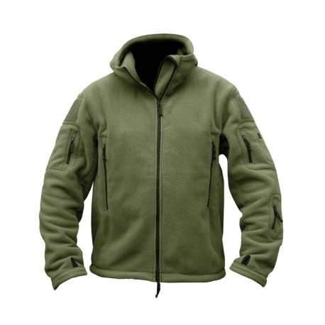 Kombat Spec-Ops Hoodie Black Tactical Military Pockets Cotton Rich Hooded Top