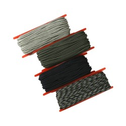 Kombat Strong Military Style Olive Paracord 15m Length Bushcraft Camping String Rope Cord