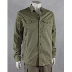 """Sample Vintage Style Shirt Khaki XXL(42"""") Casual Outdoor Country  (219)"""