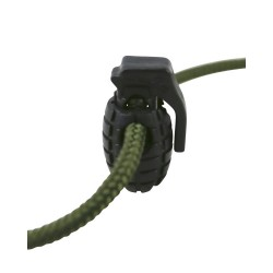 Pack10 Grenade Cord Locks Stoppers Toggle Tactical Military Airsoft EMO Punk Tan