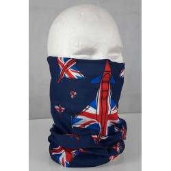 Eurofighter Typhoon Union Jack Flag Lightweight Snood Face Cover Mask Headover