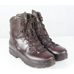 Genuine Surplus British Forces Iturri Brown Gore-tex Lined Boots All Leather Grade 1