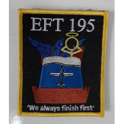 Factory Overrun RAF EFT195 Tutor Course Embroidered Patch 100x80mm