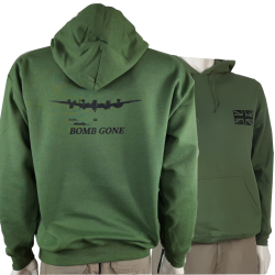 Bomb Gone Avro Lancaster Exclusive Printed Hoodie Army Military Aviation Dambusters