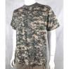 Highlander Digital ACU Camouflage Cotton T-Shirt Camo Grey Blue Green