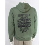 British Army 1660 Exclusive Printed Hoodie Army Military Airsoft Tactical Design