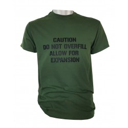 Allow For Expansion Exclusive Printed T-Shirt RAF Military Forces Tactical Green