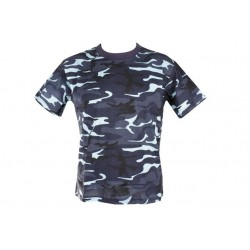 Camo T-Shirt Midnight Blue