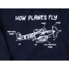 Kids How Planes Fly Printed Military Hoodie British Forces Sweatshirt Jumper Childrens