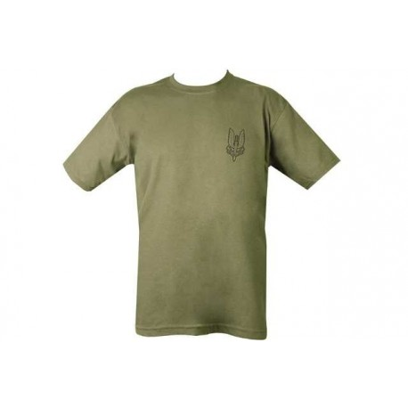 SAS REGIMENT SPECIAL FORCES GREEN MENS MILITARY COMBAT ARMY PRINT CASUAL T-SHIRT