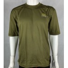 Highlander ClimateX Base Layer T-Shirt Short Sleeve Wicking Olive