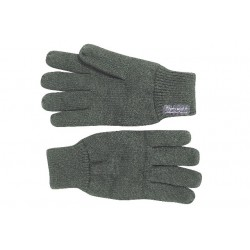 Thermal Knitted Gloves Thinsulate Olive