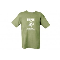 Sniper Tired T-Shirt Olive