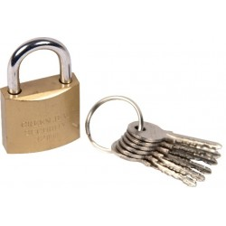 Web-tex Metal Padlock