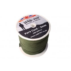 Web-tex Paracord reel 100m