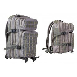 Small MOLLE Assault Pack Grey/Yellow