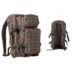 Small MOLLE Assault Pack Olive/Red