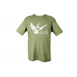 Dove of Peace T-shirt Olive