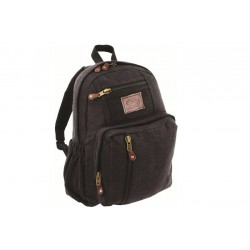 Highlander Salem Canvas Daysack Black