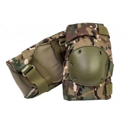 Highlander Hard Shell Articulated Knee Pads Multicam Style