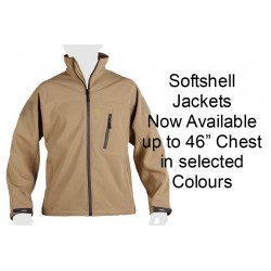 Kombat Softshell Water Resistant Jacket Tan