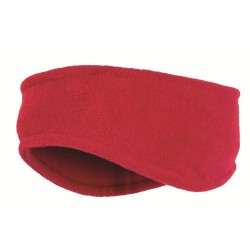 Highlander Fleece Headband Red