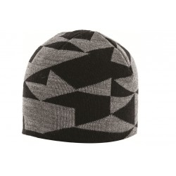 Highlander Beanie Hat Black / Grey